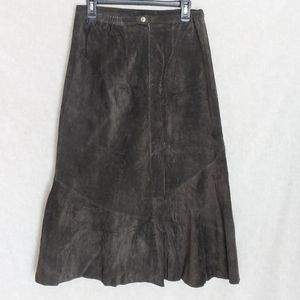 Chico's Leather Skirt NWT size 2